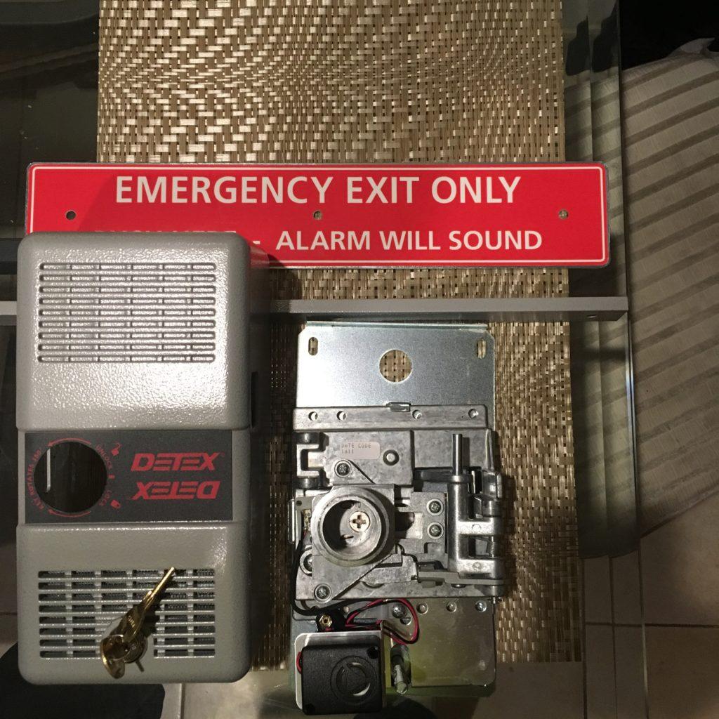 emergency door alarm lock fixed in rocky hill CT