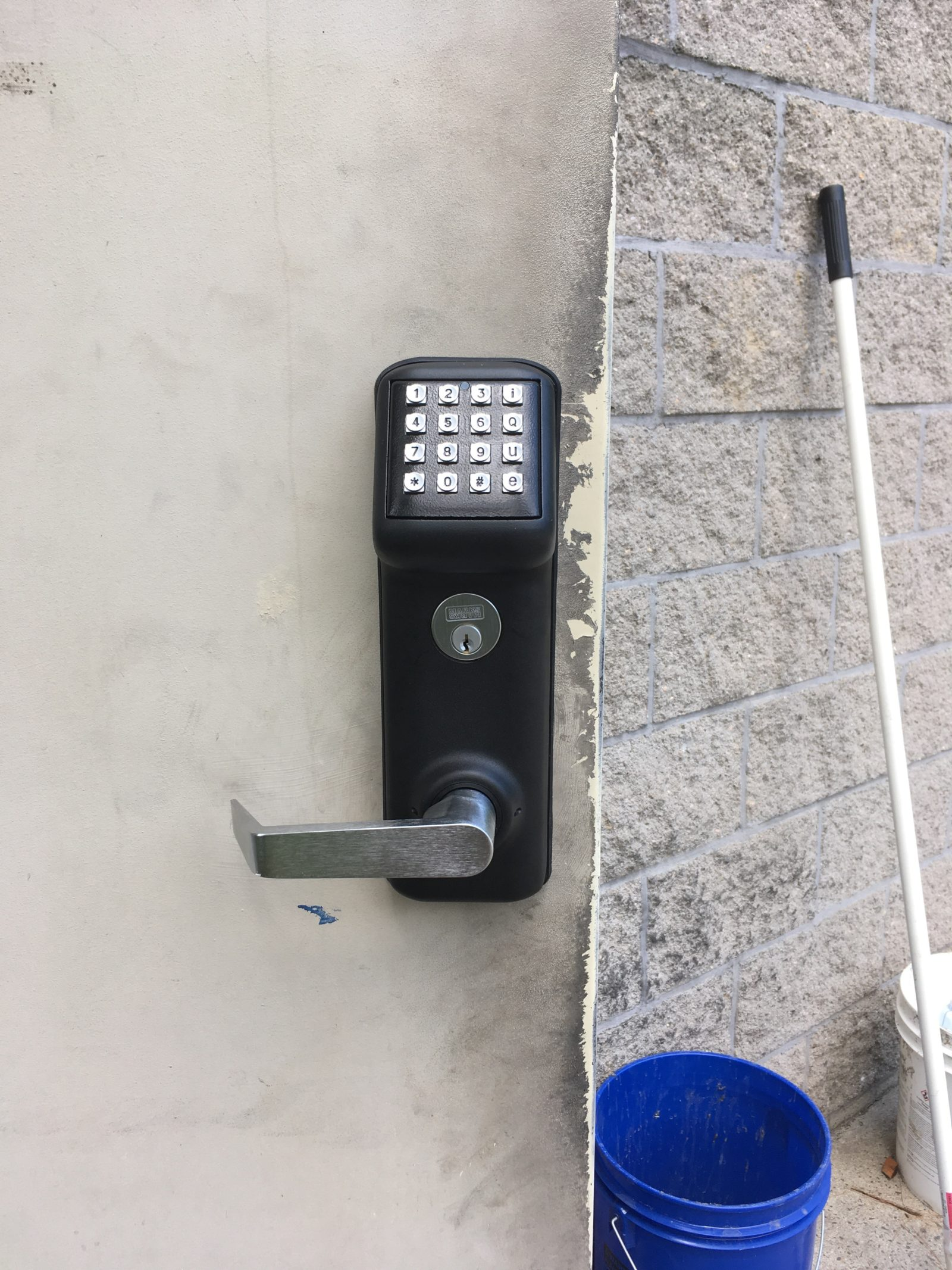 keypad entry for commercial property in avon