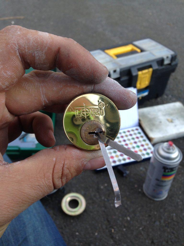 Resident needed lock picked, mr lock magic style